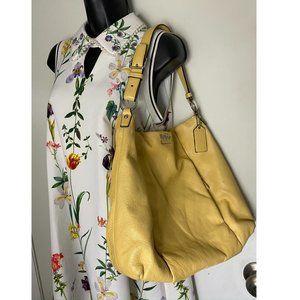 Coach Leather Large Women Shoulder Bag